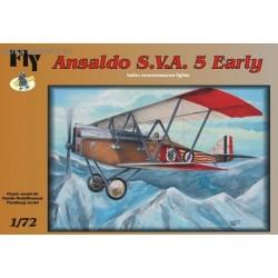 Ansaldo SVA 5 Early - 1/72 kit