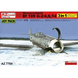 "Messerschmitt Bf-109G-2/4. G-6, G-14 ""Joy Pack"" 3 in 1 - 1/72 kit"