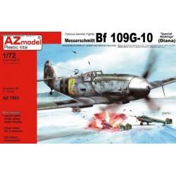 Messerschmitt Bf-109G-10 Special markings (Diana) - 1/72 kit