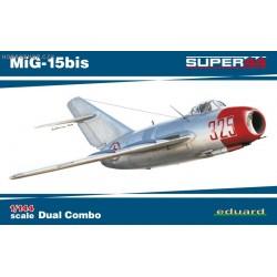 MiG-15bis Dual Combo Super44 - 1/144 kit