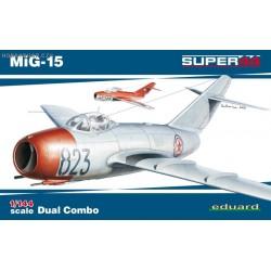MiG-15 Dual Combo Super44 - 1/144 kit