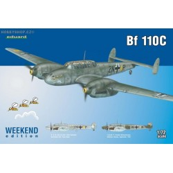Bf 110C Weekend - 1/72 kit