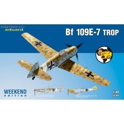 Bf 109E-7 trop Weekend - 1/48 kit
