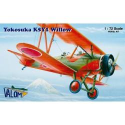 Yokosuka K5Y2 Willow Wheel - 1/72 kit