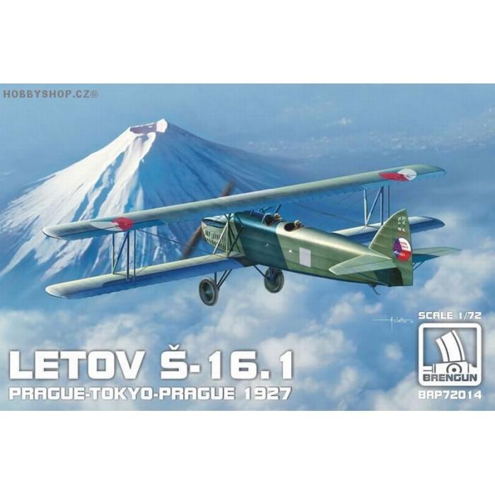 Letov S-16.1 Prague-Tokyo-Prague - 1/72 kit