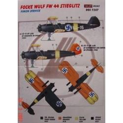 Fw 44 Stieglitz Finland - 1/72 decals