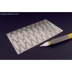 Super glue aplicator for modellers knife holder