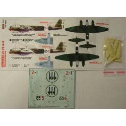 Junkers Ju 88 A-4 Italy - 1/72 decals