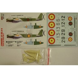 Junkers Ju 88 A-4 Spain - 1/72 decals