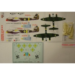 Junkers Ju 88 A-4 Romania - 1/72 decals