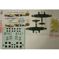 Junkers Ju 88 A-4 Hungary - 1/72 decals