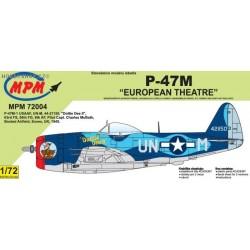 P-47M European Theatre - 1/72 kit
