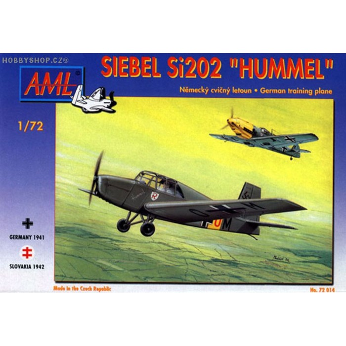 Siebel Si 202 Hummel - 1/72 kit