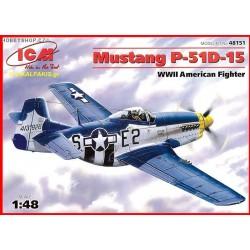 1/48 Mustang P-51D-15 kit