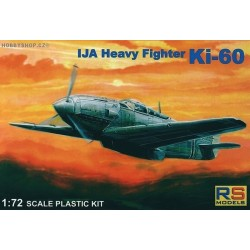 1/72 IJA Heavy Fighter Ki-60 prototype kit
