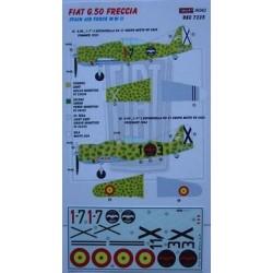Fiat G.50 FRECCIA Spain - 1/72 decals