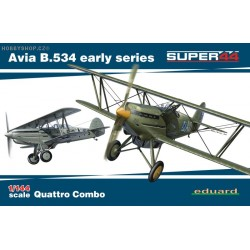 Avia B.534 early Quattro Combo - 1/144 kit