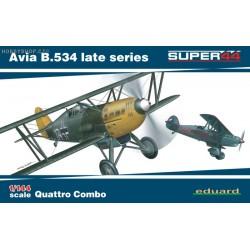 Avia B.534 late Quattro Combo - 1/144 kit