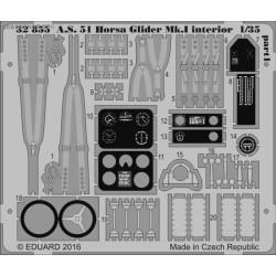 A.S. 51 Horsa Glider Mk.I interior - 1/35 PE set