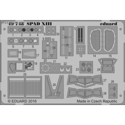 SPAD XIII - 1/48 PE set