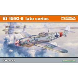 Bf 109G-6 late series ProfiPACK - 1/48 kit