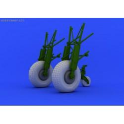 Mosquito Mk.VI wheels - 1/32 update set
