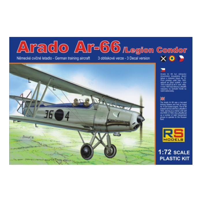 Arado 66 Spanish A.F. - 1/72 kit