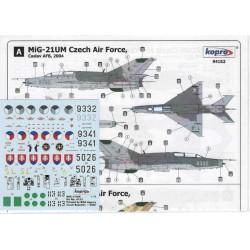 MiG-21UM Libyan & Czech A.F. - 1/72 decal