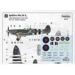 Spitfire Mk.IX Beer Barrel - 1/72 decal
