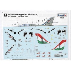 L-39ZO Hungarian Sharks - 1/72 decal