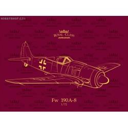 Fw 190A-8 Royal Class - 1/72 kit