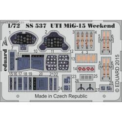 UTI MIG-15 Weekend - 1/72 PE set