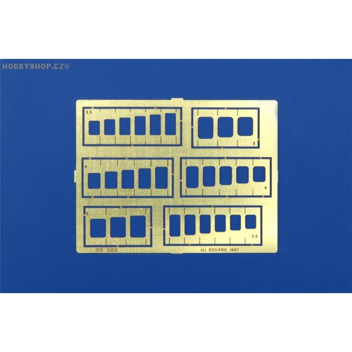 Oblongs & square stencils