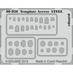 Template Access STEEL - PE tool