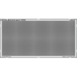 Mesh 6x6 square STEEL - PE set