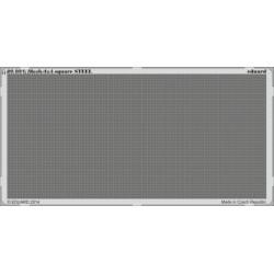 Mesh 4x4 square STEEL - PE set