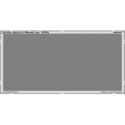 Mesh 4x4 Rhomb type STEEL - PE set