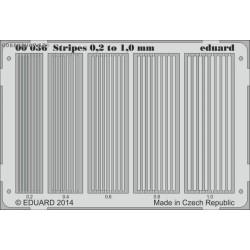 Stripes 0.2 to 1 mm - PE set