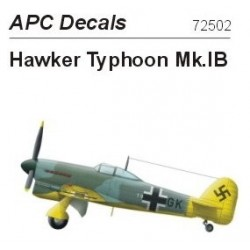 Captured Hawker Typhoon Mk.Ib - 1/72 decal
