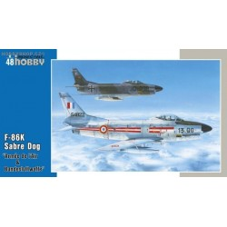 F-86K Armés de l'Air & Bundesluftwaffe - 1/48 kit