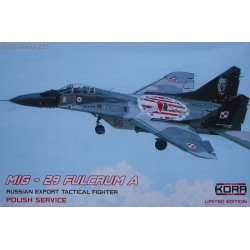 MiG-29 Fulcrum A Polish Service - 1/48 kit