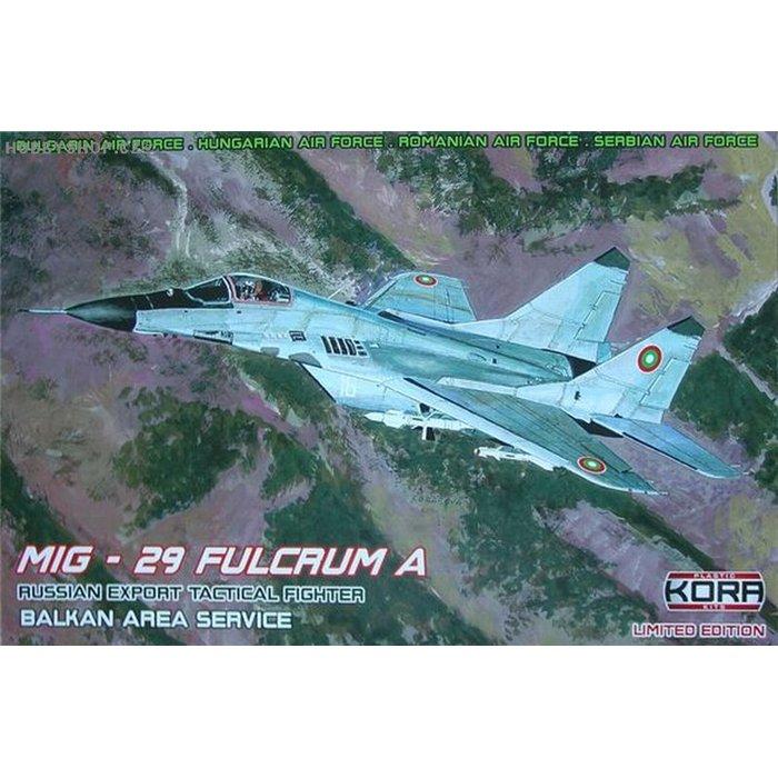 MiG-29 Fulcrum A Balkan Area Service - 1/48 kit