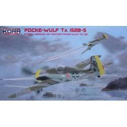 Focke-Wulf Ta 152B-5 - 1/72 kit