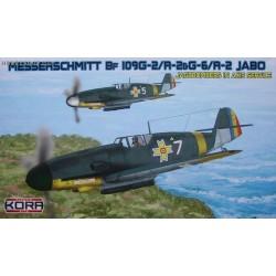 Messerschmitt Bf 109G-2/R-1 & G-6/R-1 JABO - 1/72 kit