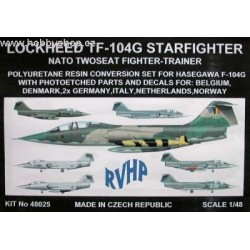 TF-104G Starfighter - 1/48 conversion set