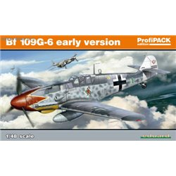 Bf 109G-6 early version ProfiPACK - 1/48 kit