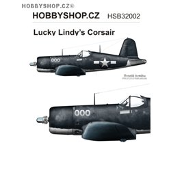 Lucky Lindy's Corsair  - 1/32 decal