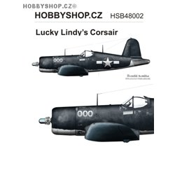 Lucky Lindy's Corsair  - 1/48 decal