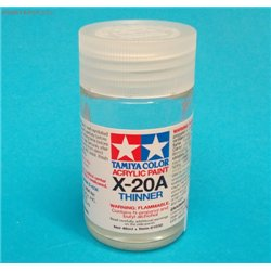 Tamiya acrylics thinner X-20A 46ml