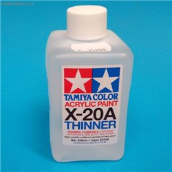 Tamiya acrylics thinner X-20A 250ml